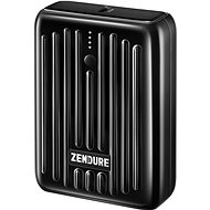 Zendure SuperMini - 10000mAh Credit Card Sized Portable Charger with PD (Black) - Powerbanka