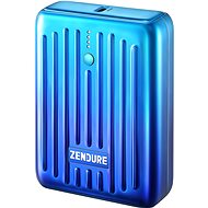 Zendure SuperMini - 10000mAh Credit Card Sized Portable Charger with PD (Ombre Blue) - Powerbanka