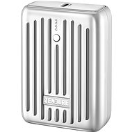 Zendure SuperMini - 10000mAh Credit Card Sized Portable Charger with PD (Silver) - Powerbanka