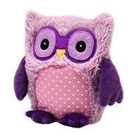Hooty Sova fialová - Plyšová hračka