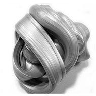 Inteligentní plastelína - Zářivá stříbrná (metalická) - Modelovací hmota