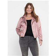 ONLY CARMAKOMA Pink curvature in suede CARMAKOMA Sherry finish - Jacket