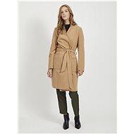 VILA Béžový lehký kabát Apple - Bunda