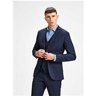 JACK & JONES Dark Blue Suit Jacket with Wool Admixture Laris - Jacket