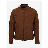 JACK & JONES Brown Suede Jacket Rocky - Jacket