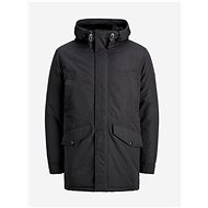 JACK & JONES Black Winter Parka Ewetland - Jacket