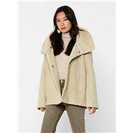 JACQUELINE DE YONG Krémový krátký kabát Sonya - Bunda