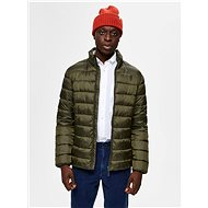 SELECTED HOMME Khaki Quilted Jacket Plastic - Jacket