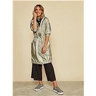 ZOOT Women's Beige Metallic Parka Hayley - Jacket