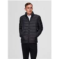 SELECTED HOMME Black Quilted Jacket Plastic - Jacket