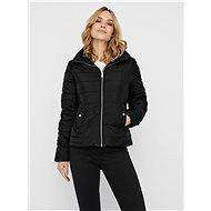 VERO MODA Black quilted winter jacket Clarisa - Jacket