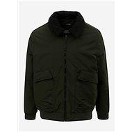 BURTON MENSWEAR LONDON Khaki Winter Jacket With Faux Fur Collar - Jacket