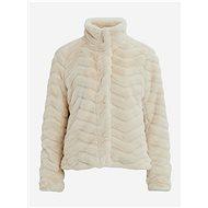 VILLA Cream Faux Fur Jacket Aliba - Jacket