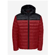 ONLY & SONS Red Winter Quilted Jacket Steven - Jacket