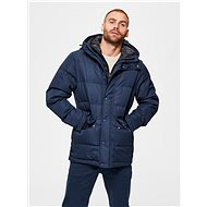 SELECTED HOMME Dark Blue Winter Jacket Josh - Jacket