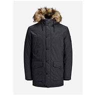 JACK & JONES Dark Grey Winter Jacket Sky - Jacket