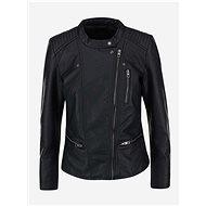 ONLY Black Faux Leather Jacket Freya - Jacket