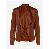 ONLY Brown jacket in suede Fleur finish - Jacket