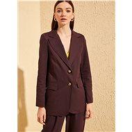 TRENDYOL Purple Suit Jacket - Jacket