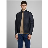 JACK & JONES Dark blue quilted light jacket Rick - Jacket
