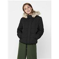 JACQUELINE DE YONG Black quilted jacket Sunset - Jacket