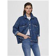 SELECTED FEMME Blue Loose Denim Jacket Victoria - Jacket