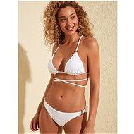 TRENDYOL White swimsuit bottom - Women's Swimwear
