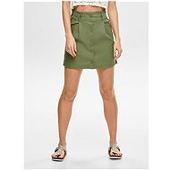 ONLY Khaki skirt Sharon - Skirt