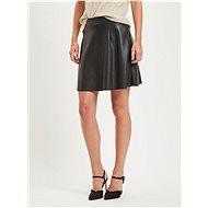 VILLA Black leatherette skirt Pen - Skirt