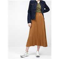 SELECTED FEMME Brown Pleated Maxi Skirt Alexis - Skirt