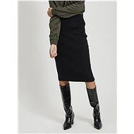 VILA Černá pouzdrová sukně Ril - Sukně