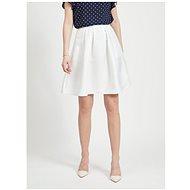 VILA Bílá sukně Kamma - Sukně