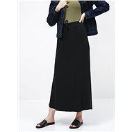VILA Černá basic maxi sukně Dell - Sukně