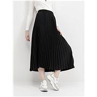 SELECTED FEMME Black Pleated Maxi Skirt Alexis - Skirt
