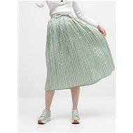 ONLY Zelená plisovaná maxi sukně Liva - Sukně