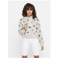 ONLY Gray patterned sweatshirt Lexi - Sweatshirt