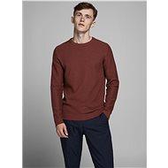 JACK & JONES Brown sweater Prblaadam - Jumper
