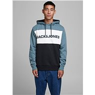 JACK & JONES Blue Sweatshirt Logo - Sweatshirt