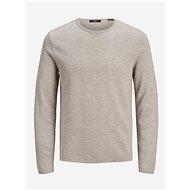 JACK & JONES Light Grey Sweater Prblaaldo - Jumper