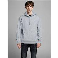 JACK & JONES Light Grey Hooded Sweatshirt - Sweatshirt