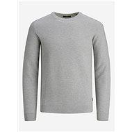 JACK & JONES Light gray sweater Prblaadam - Jumper