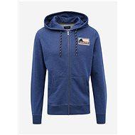 JACK & JONES Dark blue sweatshirt with Explore embroidery - Sweatshirt