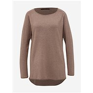 ONLY Hnědý basic svetr Mila Lacy  - Svetr