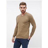 ZOOT Light brown men's basic sweater - Jumper