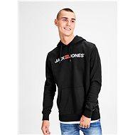JACK & JONES Black hooded sweatshirt Corp - Sweatshirt