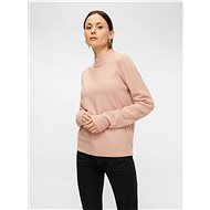 PIECES Pink basic sweater Bianca - Jumper