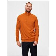 SELECTED HOMME Orange sweater Berg - Jumper
