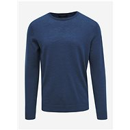 SELECTED HOMME Blue Wool Basic Sweater Tower - Jumper