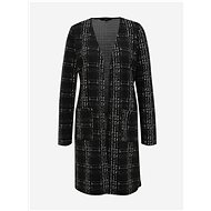 VERO MODA Black checkered cardigan Erin - Jumper