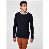 SELECTED HOMME Dark blue basic Victor sweater - Jumper